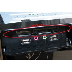Čítačka kariet pre MC8102 / MC8107, čierna CRMC8102