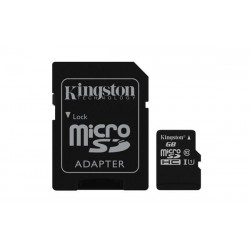 256 GB microSDHC/SDXC karta Kingston Class 10 UHS-I + adaptér (r45MB/s, w10MB/s ) SDC10G2/256GB