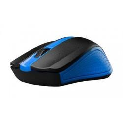 C-Tech myš WLM-01 modrá, bezdrôtová wir, USB. Nano receiver SKCTECHMYSWLM01M