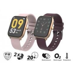 """iGET FIT F45 Gold - Chytré hodinky 1,7"""" IPS, 240x280 plně dotykový,..."""