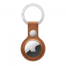 AirTag Leather Key Ring - Saddle Brown MX4M2ZM/A