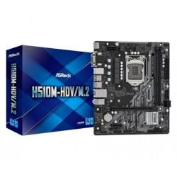 Asrock H510M-HDV/M.2, LGA1200, H510M, 2xDDR4, HDMI, M.2,  MINI ATX