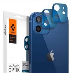 Spigen Optik Lens Protector pre iPhone 12 - Blue AGL02470