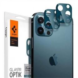 Spigen Optik Lens Protector pre iPhone 12 Pro - Blue AGL02460