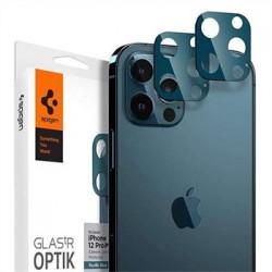 Spigen Optik Lens Protector pre iPhone 12 Pro Max - Blue AGL02456