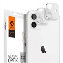 Spigen Optik Lens Protector pre iPhone 12 mini - White AGL02461