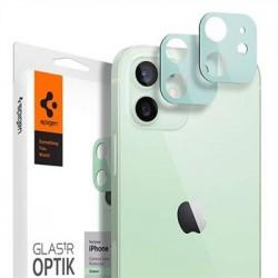Spigen Optik Lens Protector pre iPhone 12 - Green AGL02471