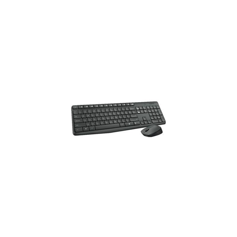 LOGITECH Wireless Desktop MK235 CZ 920-007933