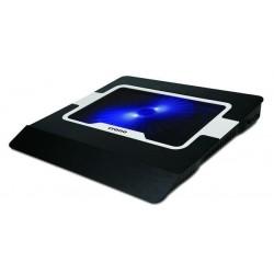 """CRONO aktivní chladicí podložka pod notebook CB156 do 15.6"""", modré..."""