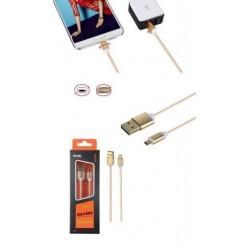 ALIGATOR Datový a nabíjecí kabel PLUS, Micro USB, oboustranný,...