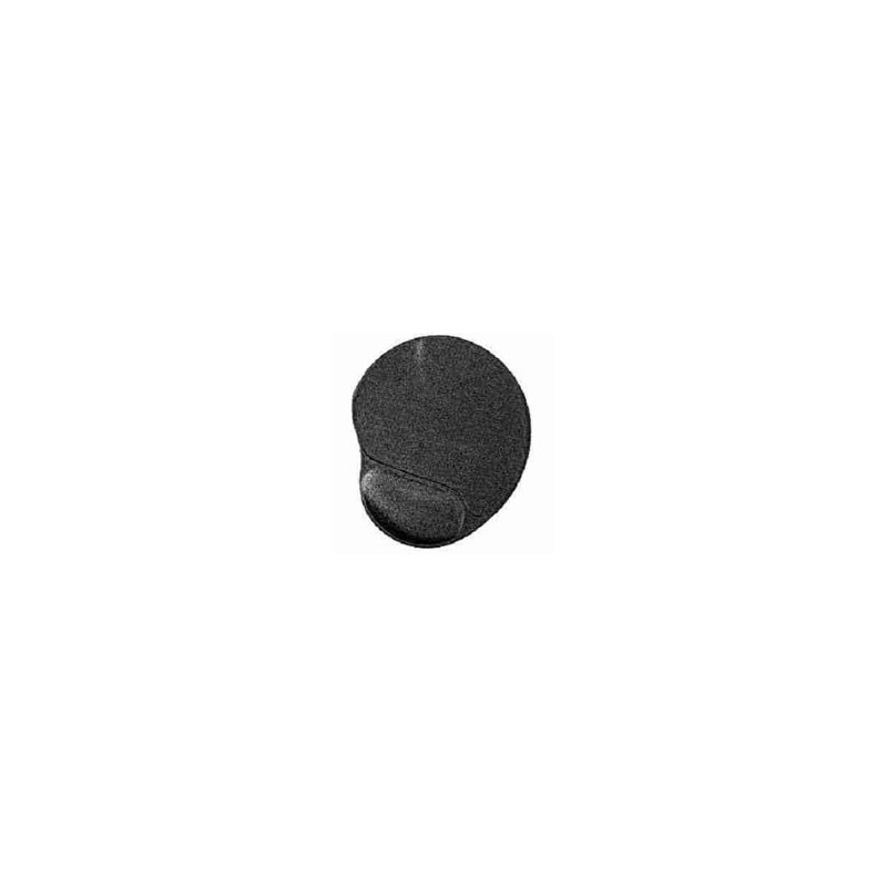 Podložka pod myš - gelova čierna MP-GEL-BLACK