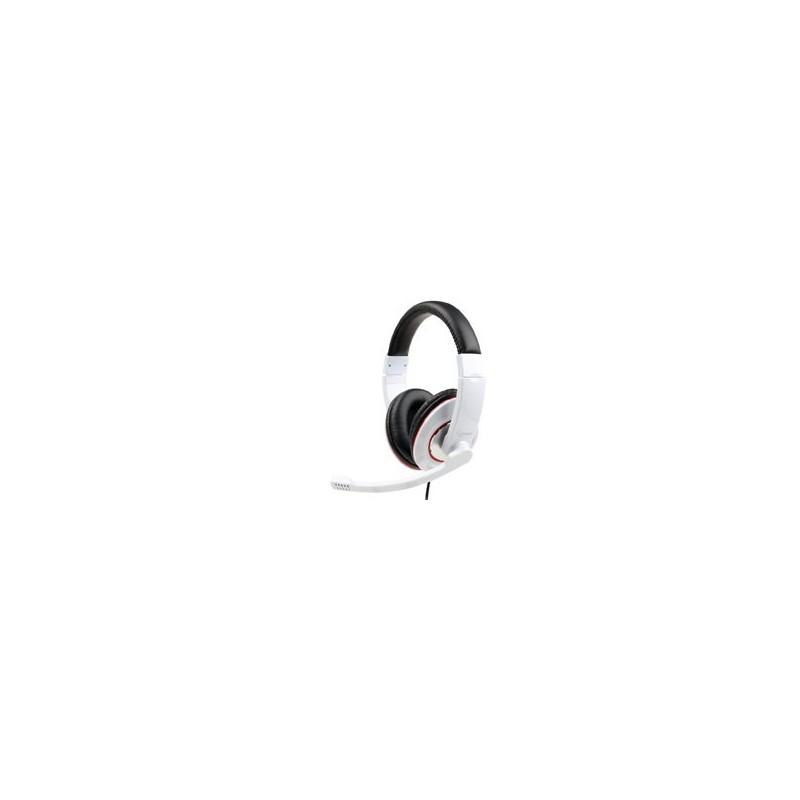 Gembird slúchadlá MHS-001-GW biele