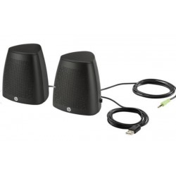 HP S3100 Stereo Speakers - Black V3Y47AA#ABB