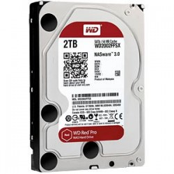"WD Red PRO 3,5"" HDD 2,0TB 7200RPM 64MB SATA 6Gb/s WD2002FFSX"
