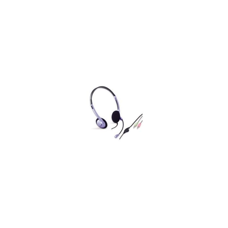 GENIUS slúchadlá HS-02B s mikrofónom 31710037100