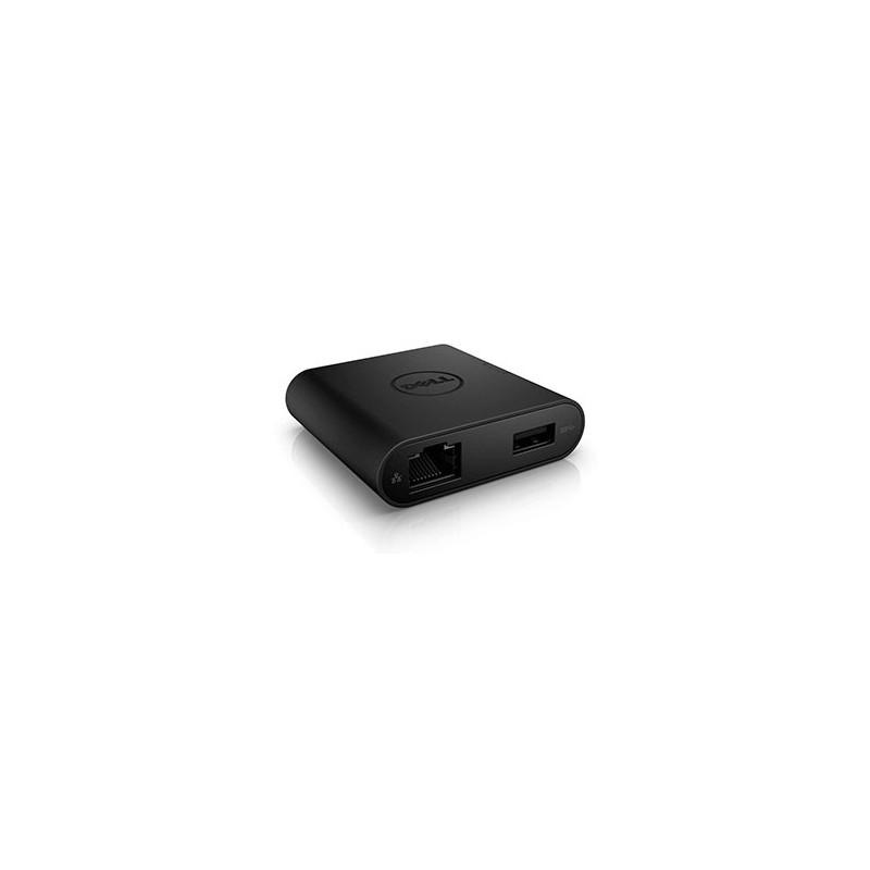 Dell Adapter - USB-C to HDMI/VGA/Ethernet/USB 3.0 DA200 470-ABRY