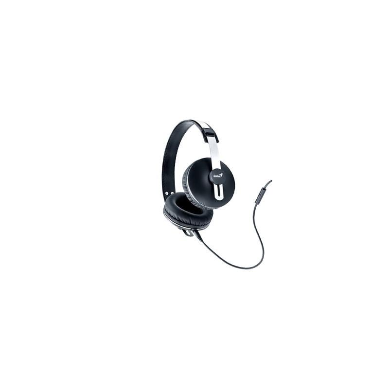 GENIUS slúchadlá HS-M435 s mikrofon cerno-sede 31710191100