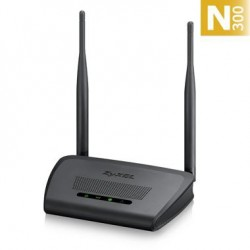 ZyXEL NBG-418N v2, Wi-Fi 802.11n (300Mbps,4xLAN 10/100,1xWAN 10/100) WPA2, 2x 5dBi antena NBG-418NV2-EU0101F