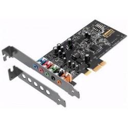 Creative Sound Blaster AUDIGY FX, zvuková karta 5.1, 24bit, PCIe 70SB157000000