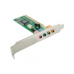 4World 4 kanálová interna zvukova karta pre stolove pocitace, PCI, box 05363