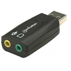 Manhattan zvuková karta Hi-Speed USB 3-D 150859