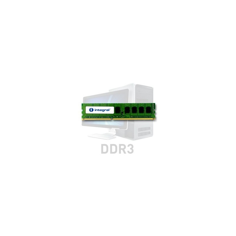 INTEGRAL 2GB 1066MHz DDR3 CL7 R1 DIMM 1.5V IN3T2GNYBGX