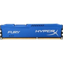 HyperX Fury 4GB 1333MHz DDR3 CL9 (9-9-9-27), modrý chladič HX313C9F/4