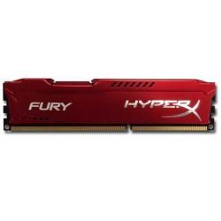 HyperX Fury 4GB 1333MHz DDR3 CL9 (9-9-9-27), červený chladič HX313C9FR/4