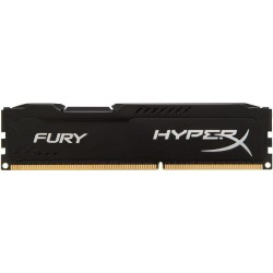 HyperX FURY 4GB 1600MHz DDR3L CL10 DIMM 1.35V, čierny chladič HX316LC10FB/4