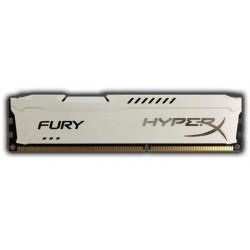 HyperX Fury 8GB 1333MHz DDR3 CL9 (9-9-9-27), biely chladič HX313C9FW/8