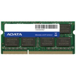 ADATA 8GB 1600MHz DDR3 CL11 SODIMM 1.5V Retail AD3S1600W8G11-R