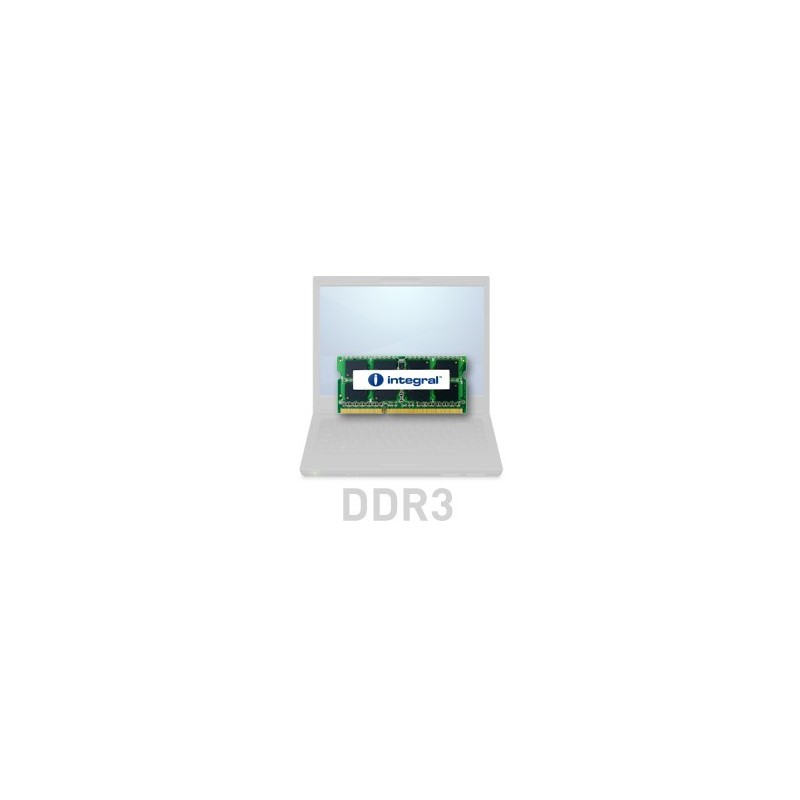 INTEGRAL 2GB 1066MHz DDR3 CL7 R1 SODIMM 1.5V IN3V2GNYBGX