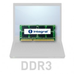 INTEGRAL 8GB 1333MHz DDR3 CL9 R2 SODIMM 1.5V IN3V8GNZJII