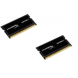 HyperX Impact 16GB (Kit 2x8GB) 1866MHz DDR3L CL11 SODIMM 1.35V, čierny chladič HX318LS11IBK2/16