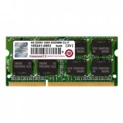 Transcend 4GB 1600MHz DDR3 CL11 SODIMM 1Rx8 TS512MSK64V6H