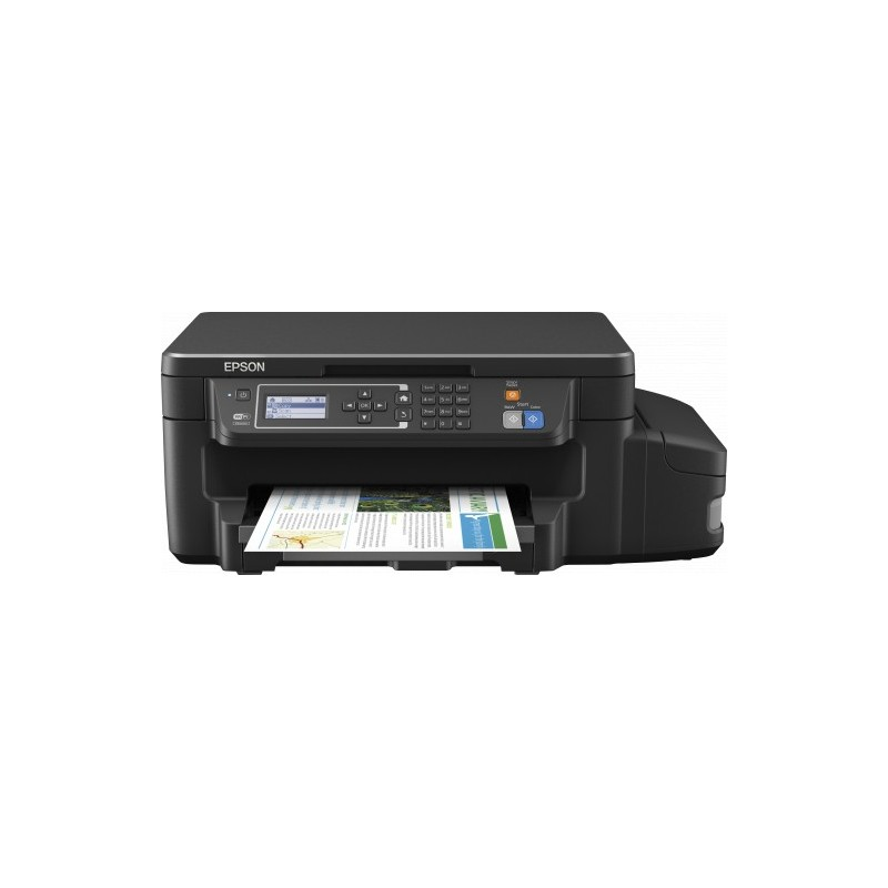 Epson L605, A4, color All-in- One, Fax, USB, LAN, WiFi, iPrint, duplex C11CF72401