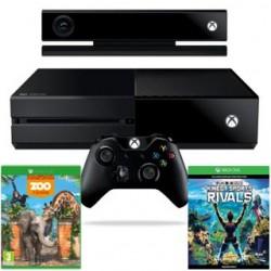 XBOX ONE 500GB + Kinect + KSR + ZOO TYCOON 7UV-00257