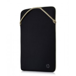 HP 15 ReversP Blk/Gold Sleeve 2F2K6AA