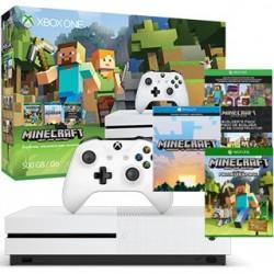 XBOX ONE S 500GB Biela + Minecraft Favorites Pack ZQ9-00047