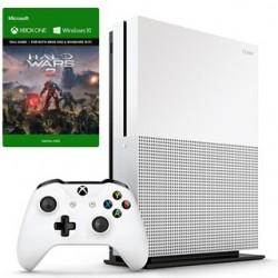 XBOX ONE S 1TB Biela + Halo Wars 2 234-00137
