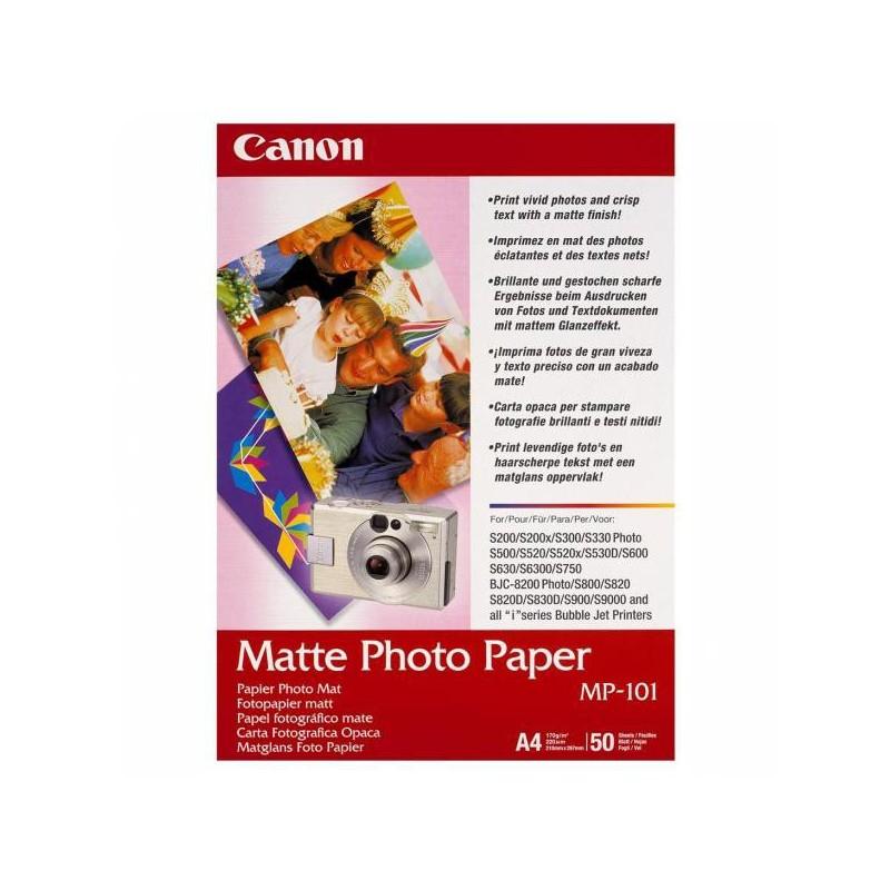 Canon Matte Photo Paper, foto papier, matný, biely, A4, 170 g/m2, 50 ks 7981A005