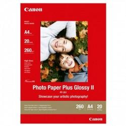 Canon Photo Paper Plus Glossy, foto papier, lesklý, biely, A4, 260,275 g/m2, 20 ks, PP-201 2311B019