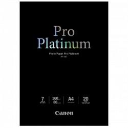 Canon Photo Paper Pro Platinum, foto papier, lesklý, biely, A4, 300 g/m2, 20 ks, PT-101 2768B016