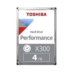 """Toshiba HDD Desktop X300 4TB, 3,5"""", 7200rpm, 256MB, SATA 6GB/s..."""