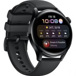 HUAWEI Watch 3, Black Fluoroelastomer 55026820