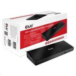 Club3D Dokovací stanice USB 3.2 typ C...