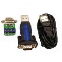 PremiumCord Adaptér z USB 2.0 A samec na RS485 ku2-232d