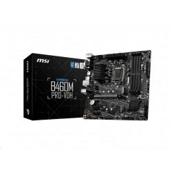 MSI MB Sc LGA1200 B460M PRO-VDH, Intel B460, 4xDDR4, 1xHDMI, 1xDVI,...