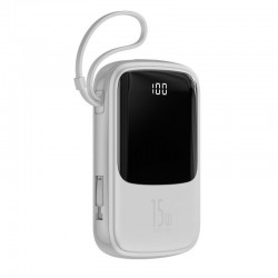 Baseus Qpow powerbanka s LED displejem 3A 10000mAh s USB-C kabelem,...