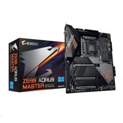 GIGABYTE MB Sc LGA1200 Z590 AORUS MASTER, Intel Z590, 4xDDR4, 1xDP,...